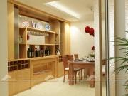 Tủ rượu gỗ phòng khách
